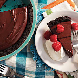 Rich Chocolate Pudding Pie