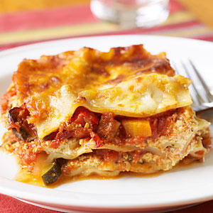 Vegetable Lasagna - Healthy Lasagna Recipes - Cooking Light