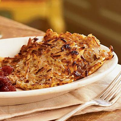 Root Vegetable Latkes - Latke Recipes - Cooking Light