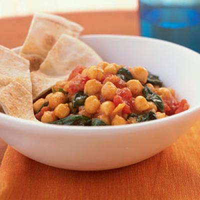 Chickpea and Spinach Curry - Recipes