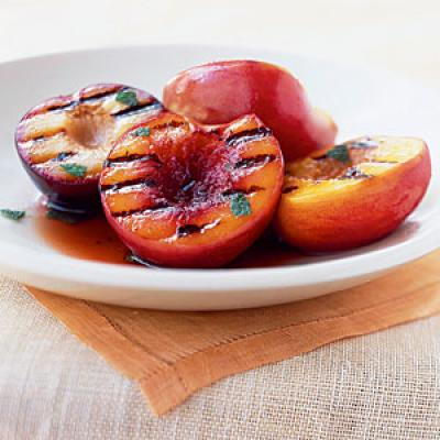 Grilled Stone Fruit Antipasto Plate