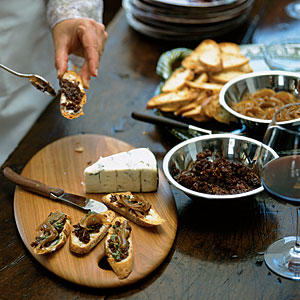 Caramelized Onion Tart With Gorgonzola And Brie Recipes — Dishmaps