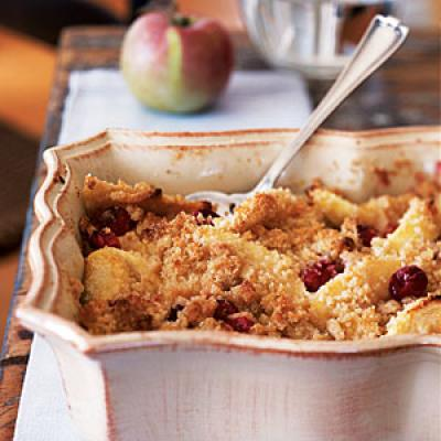 Cranberry and Apple Crumble - 25 Fruit Crumbles, Crisps, and Cobblers ...