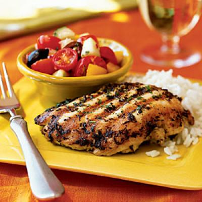 Lemon and Oregano-Rubbed Chicken Paillards - Cooking with Oregano ...