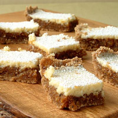 Healthy Fig and Cream Cheese Bars Cookies Recipe