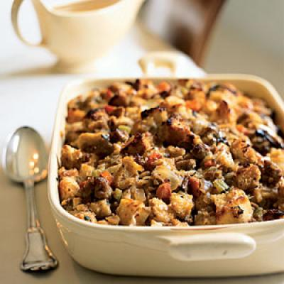 Sourdough And Sausage Stuffing Recipes — Dishmaps