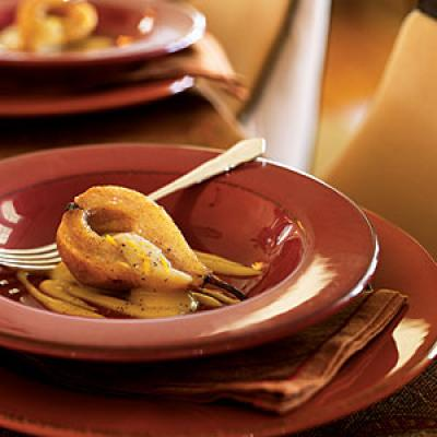 pears with vanilla sangria glazed pears honey sweet spot caramelized ...