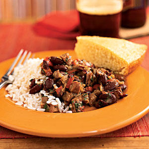 Andouille and Red Beans with Rice