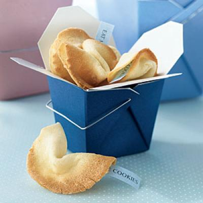 Healthy Send a Message Fortune Cookies Recipe