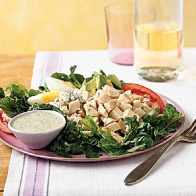 Cobb Salad with Green Goddess Dressing - Quick and Easy Salad Recipes ...