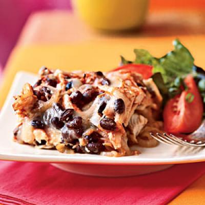 Black Bean and Chicken Chilaquiles Recipes