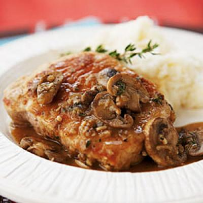 Pork Chops Marsala Recipe