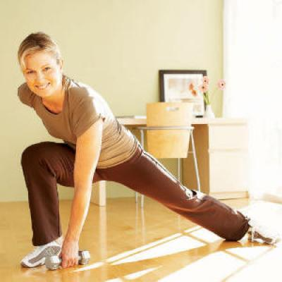 Strengthen Inner and Outer Thighs and Mid to Lower Back