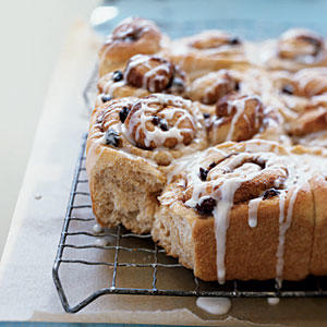 Kids' Whole-Wheat Cinnamon Rolls