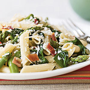 Pile Veggies on Pasta