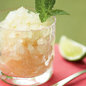 The classic cocktail provides relief from the heat of a Southern summer, so why not freeze and serve it for dessert?