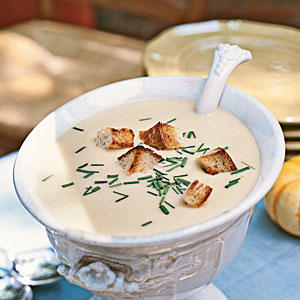 Beer-Cheddar Soup - 100+ Healthy Soup Recipes - Cooking Light