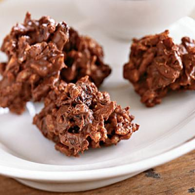 Chocolate Almond Cherry Crisps Recipes
