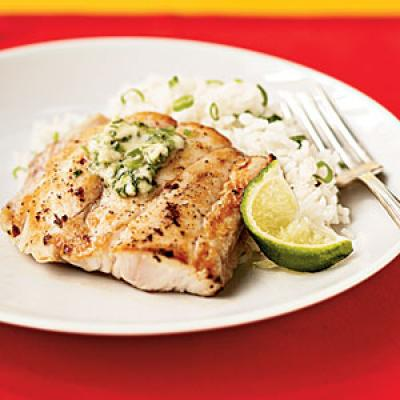 Broiled Red Snapper with Ginger-Lime Butter - Superfast Fish Recipes ...