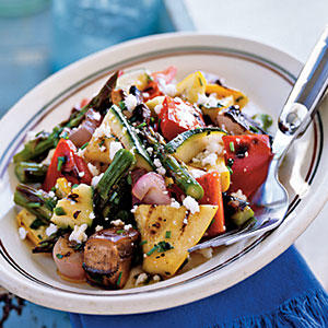 Grilled Vegetable Salad - Summer Squash and Zucchini Recipes - Cooking ...
