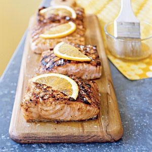 ... be tasty with pork. Garnish fillets with orange slices, if desired