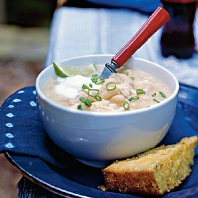 White Chili Recipes - Cooking Light