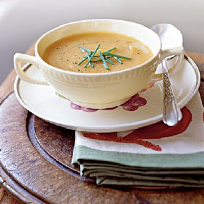 Healthy Holiday Foods: Roasted Butternut Squash and Shallot Soup Recipes