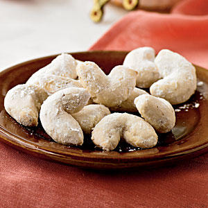 Healthy Anise Tea Crescents Cookie Recipe