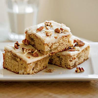 Contestant Lindsay Weiss won the dessert category with these brilliant banana bars.