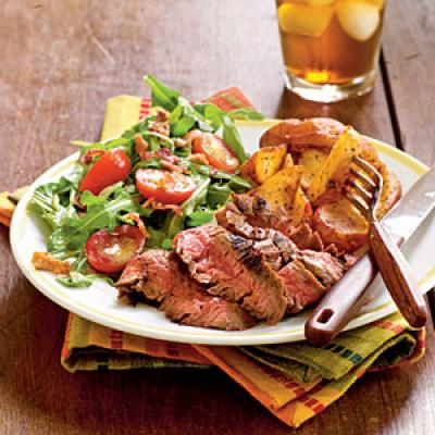 Ancho-Rubbed Flank Steak