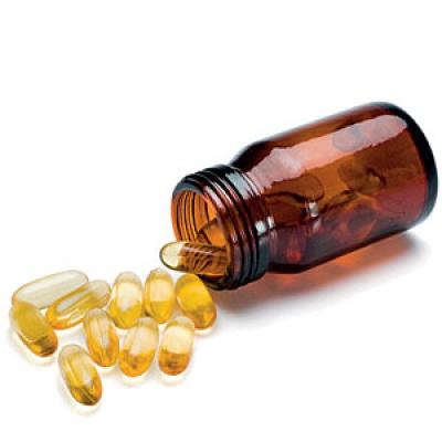 Taking fish oil pills for weight loss