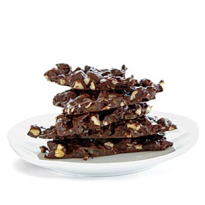 Healthy snack recipe: Chocolate Hazelnut Bark