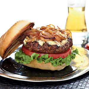 Healthy Stilton Cheese Burgers Recipes