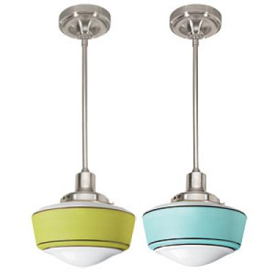 Decorative items cooking light for Retro light fixtures kitchen