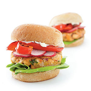 Middle Eastern Chickpea Miniburgers Vegetarian Recipe