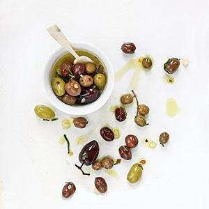 Citrus, Fennel, and Rosemary Olives Recipes