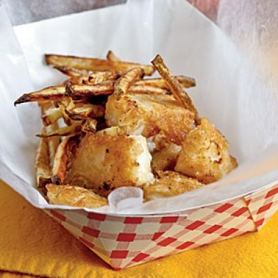 Cod recipes cooking light for Beer battered fish and chips