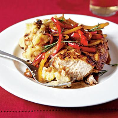 Roast Chicken with Balsamic Bell Peppers - 25 Best Chicken Recipes ...