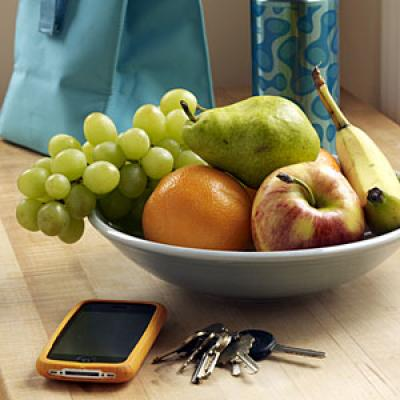 Healthy Snack: Bowl of Fruits
