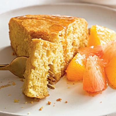 Tuscan Cake with Citrus Compote - Cooking with Yogurt: 15 Ways ...