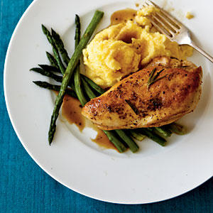 Lemon-Rosemary Chicken Breasts - Baked Chicken Recipes - Cooking Light