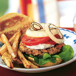 Red-Lentil Burgers with Aioli - Best Veggie Burger Recipes - Cooking ...