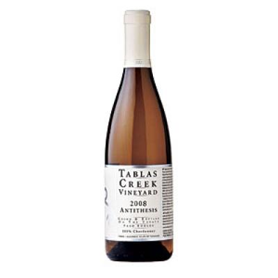tablas creek antithesis Tablas creek is best served at 155 degrees celsius, 60 degrees fahrenheit the cool, almost cellar temperature gives the wine more freshness and lift young vintages can be decanted for 1 hour or so, depending on the character of the vintage this allows the wine to soften and open its perfume.