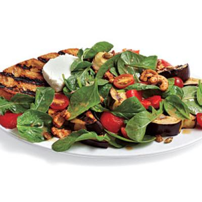 Grilled Vegetable and Goat Cheese Salad Recipes