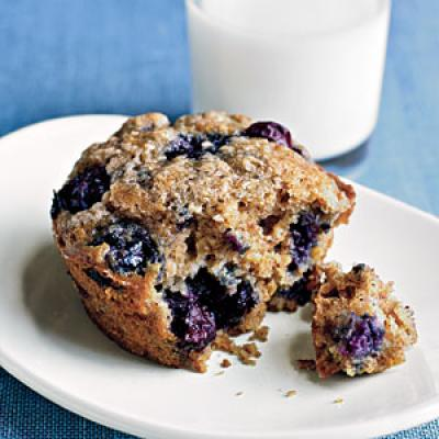 Blueberry oat muffins food network