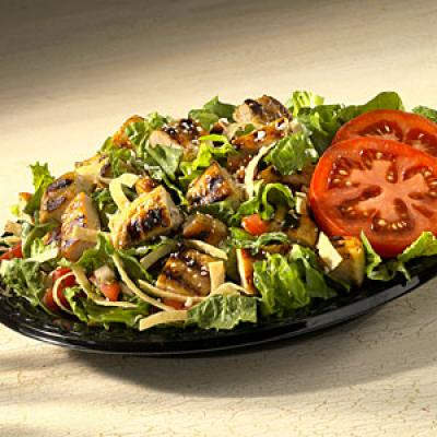 Baja Chicken Salad Baja Fresh Salad Nutrition
