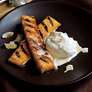 Rum-Spiked Grilled Pineapple with Toasted Coconut - 25 Best Dessert ...