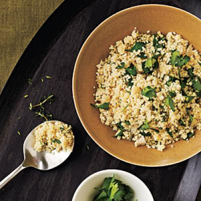 Herbed Couscous Pilaf - Quick and Easy Side-Dish Recipes - Cooking ...