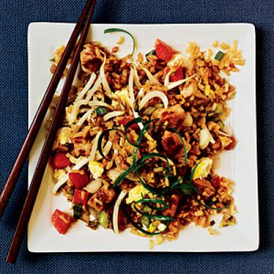 Almost Classic Pork Fried Rice - 22 Fried Rice Recipes - Cooking Light