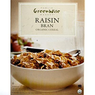 Publix Greenwise Raisin Bran Cereal